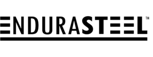 EnduraSteel logo for https://www.endurasteel.com pass-throughs web site in black for site link